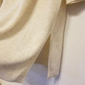 J. Jill Sweaters - J.Jill shaker-stitch tunic in oatmeal heather
